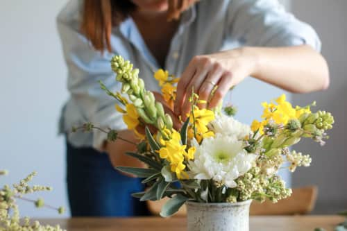 Fibers & Florals - Floral Arrangements and Planters & Garden