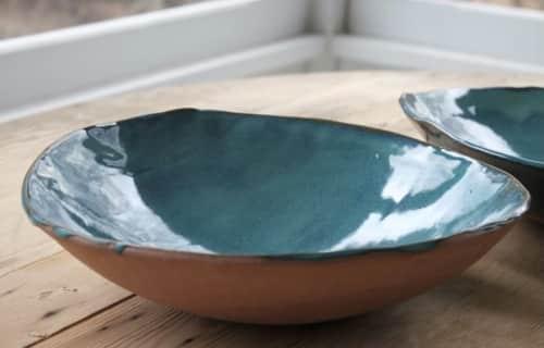 Caroline Wallner (Tivoli Tile Works) - Plates & Platters and Tableware