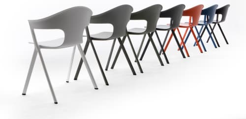 Layer by Benjamin Hubert - Chairs and Tables