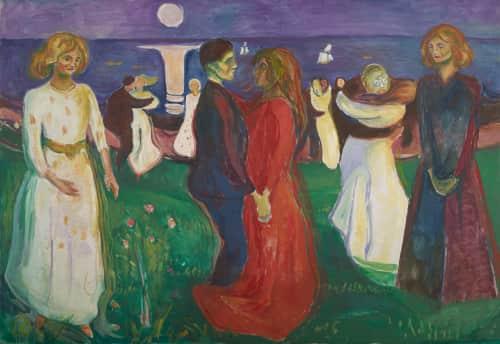 Edvard Munch - Paintings and Art