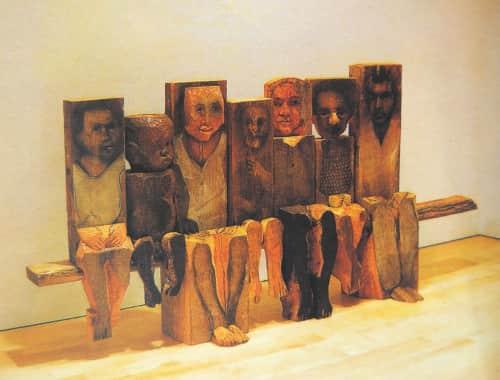 Marisol Escobar - Public Sculptures and Sculptures