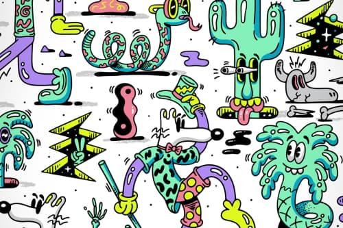 Steven Harrington - Murals and Art