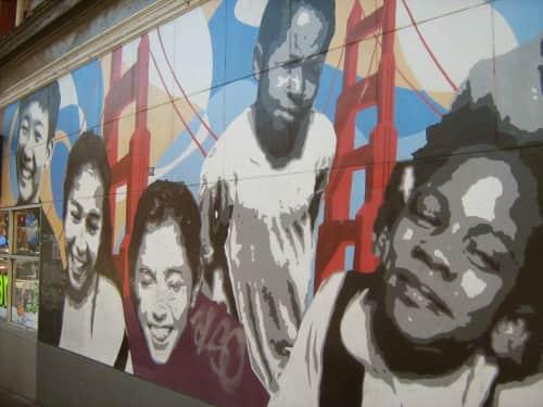 Darryl Mar - Street Murals and Public Art