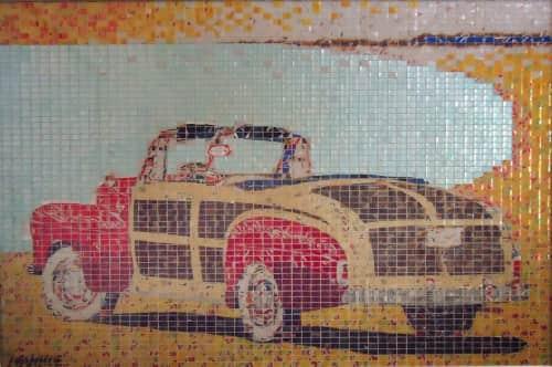 Jeff Ivanhoe - Public Mosaics and Public Art