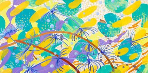 Harumo Sato - Murals and Paintings