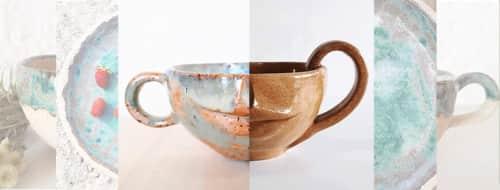 Chrissa Ceramics - Cups and Plates & Platters