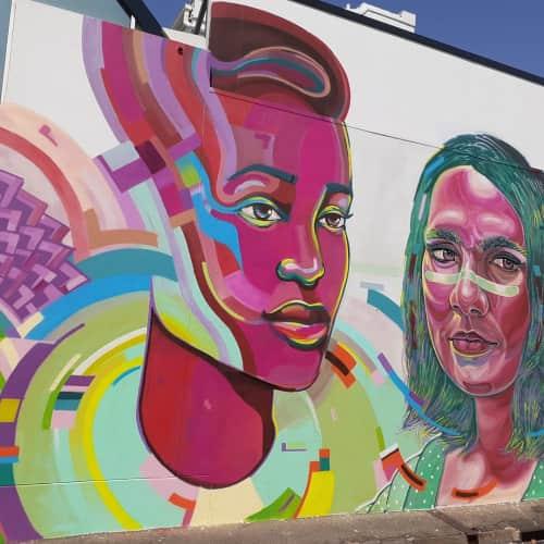 Viktart Mwangi - Murals and Street Murals