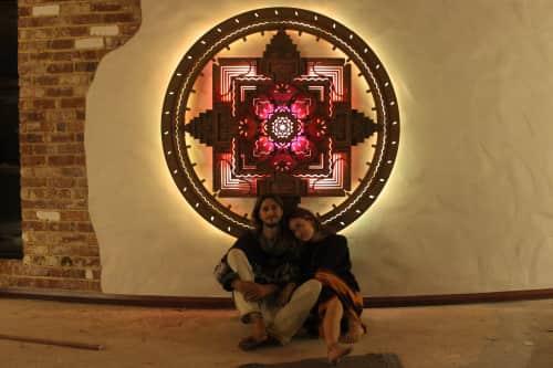 Hazel Mandala - Sculptures and Art