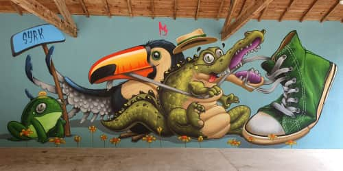 syrk - Paintings and Murals