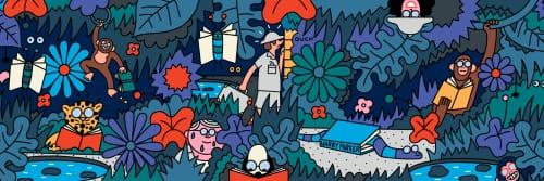 Leon Edler - Murals and Art
