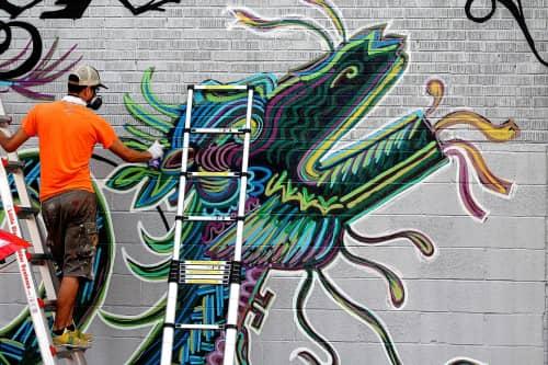 Street Art of Artkungfu (Angel Quesada) - Murals and Street Murals