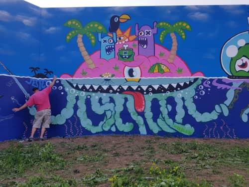 Ox-Alien - Art and Street Murals