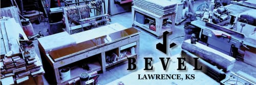 BEVEL WOOD & METAL - Tables and Furniture