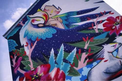 Julieta XLF - Murals and Street Murals