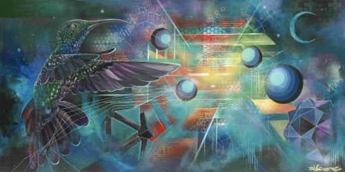 Garrett Etsitty - Murals and Paintings