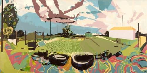 Miro Hoffmann - Paintings and Art