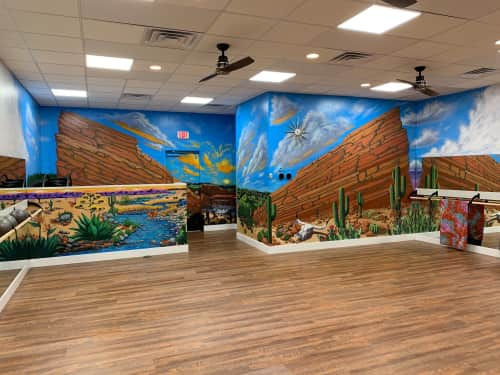 Erica Nelson - Murals and Signage