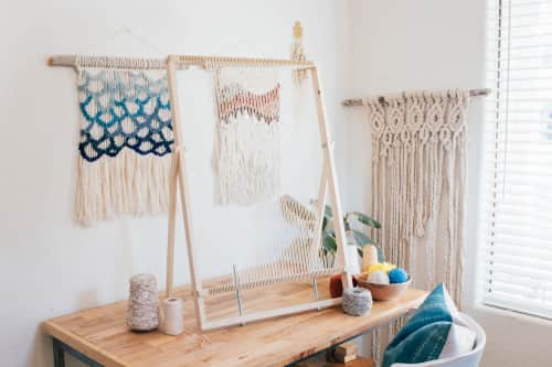 Hello Hydrangea by Lindsey Campbell - Wall Hangings and Macrame Wall Hanging