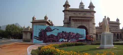 Yantr - Street Murals and Murals