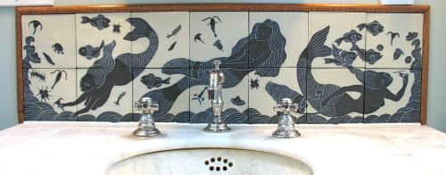 Flying Pig Pottery - Tiles