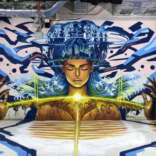 Kensuke Takahashi - Murals and Street Murals