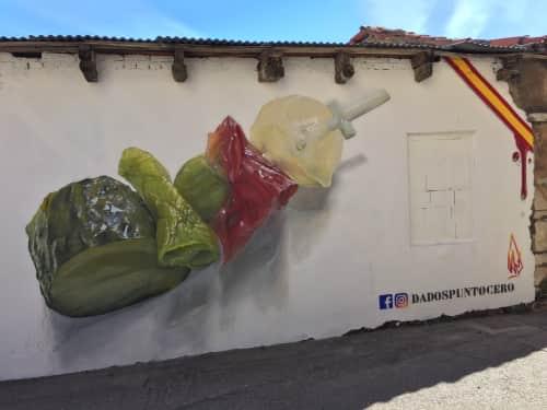 Dadospuntocero - Street Murals and Paintings