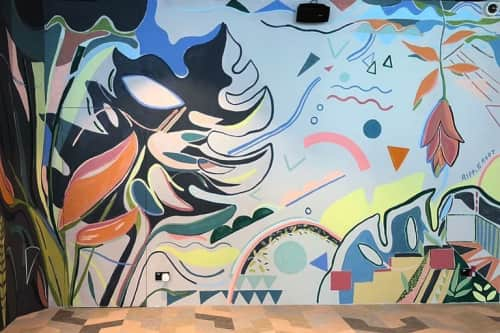 RIPPLE ROOT by Liquan Liew and Estella Ng - Murals and Paintings