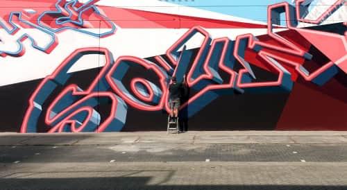 Vincent Huibers Graffiti Art - Murals and Art
