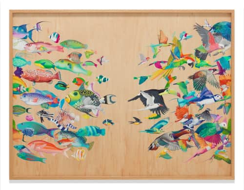Tiffany Bozic - Paintings and Murals