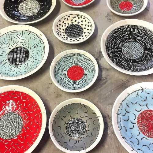 Shelley Maisel Ceramics - Plates & Platters and Tableware