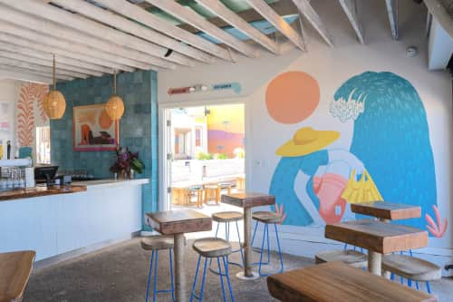 DJ Javier - Murals and Paintings