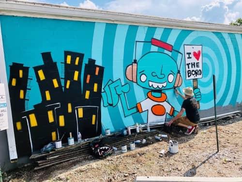 Ryan Frizzell (The Rhinovirus) - Art and Street Murals