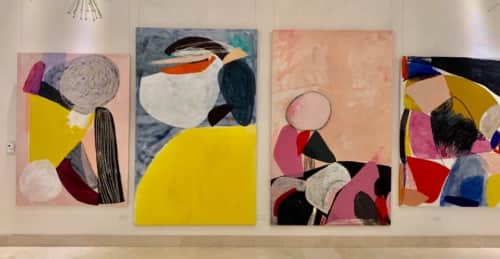 Heather Chontos - Art and Curtains & Drapes