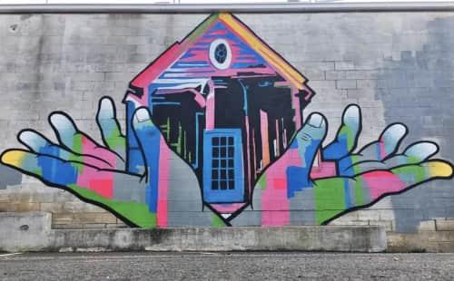 William Mize - Street Murals and Public Art