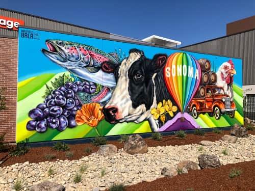Maxfield Bala Creative - Murals and Street Murals