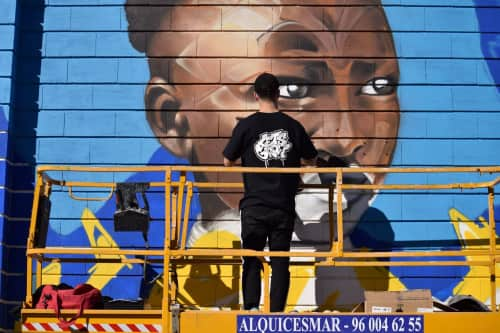 Nacho Mawe - Murals and Art
