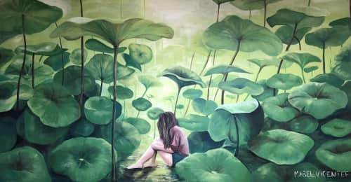 Mabel Vicentef - Murals and Street Murals