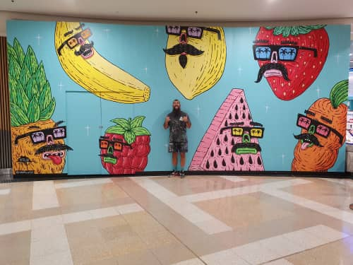 Mulga - Murals and Street Murals