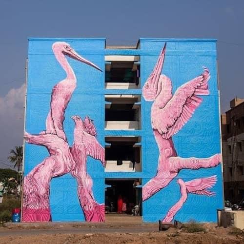 Amitabh Kumar - Street Murals and Public Art