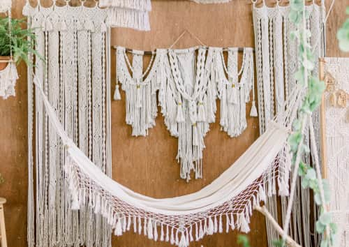 Knotting Elle - Macrame Wall Hanging and Art