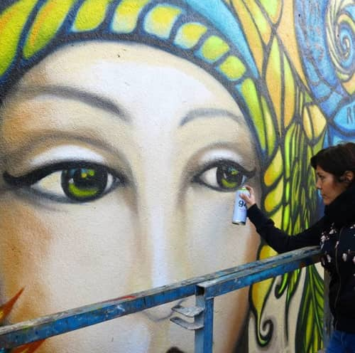 Fio - Street Murals and Paintings