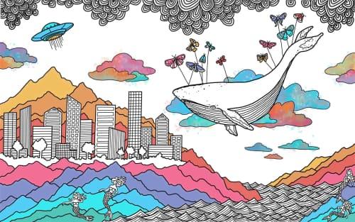 Avery Orendorf - Murals and Street Murals