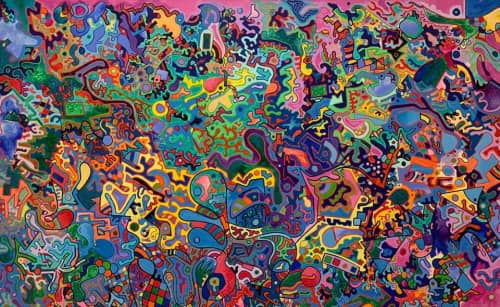 Jonathan Olaya - Murals and Street Murals