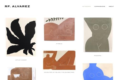 RF. Alvarez - Paintings and Art
