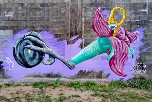 Bner - Street Murals and Paintings