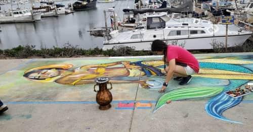 Art of Stacy Nalapraya - Murals and Art