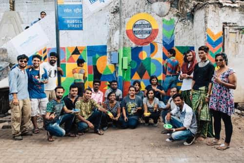 Aravani Art Project - Murals and Street Murals