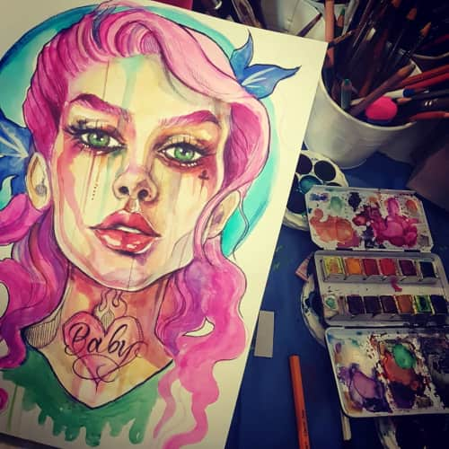 Ally Jade - Paintings and Art