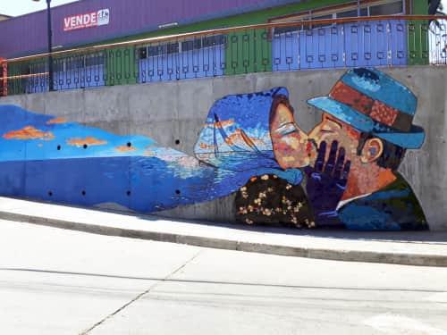 Valeria Merino - Street Murals and Public Art