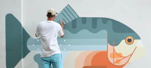 Amok Island - Street Murals and Murals